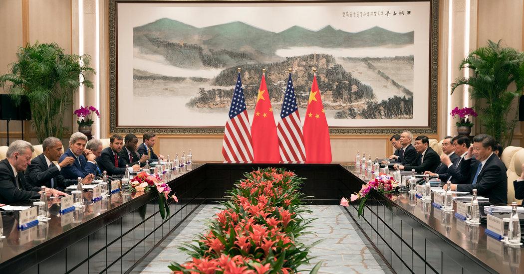 Obama And Xi Jinping Mit U S And China To Paris