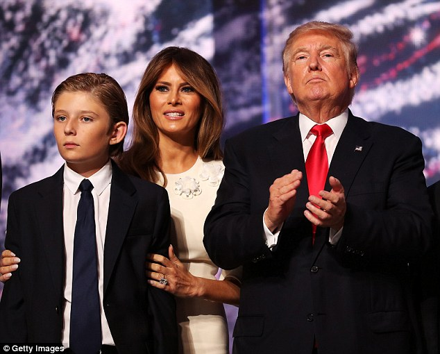 Melania Trump Threatens to Sue Over Video Suggesting Her Son Barron ...