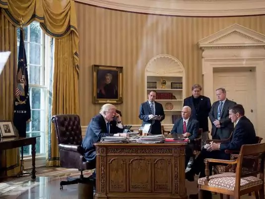 Trump Redesign Oval Office Trump Redesign Oval Office Usa